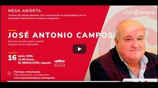 """Mesa Abierta con José Antonio Campos """"Director Escuela de Cocina Azafrán"""""""
